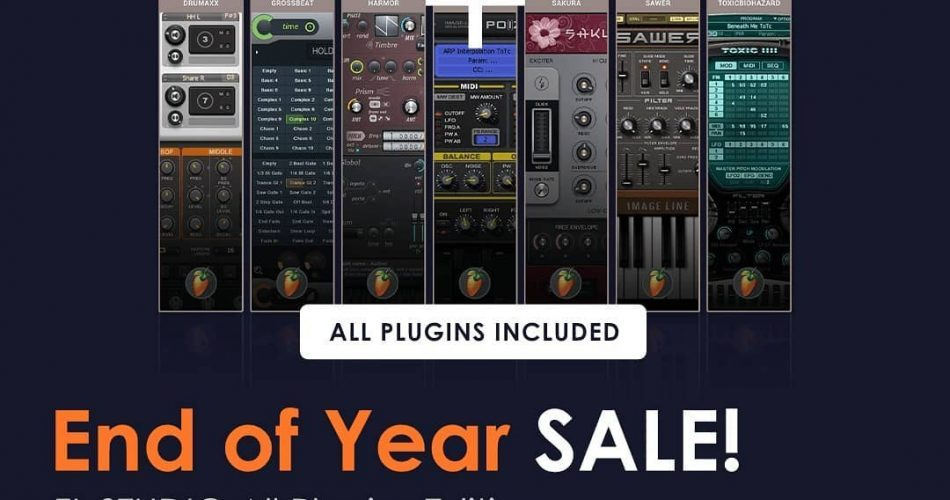 Image Line End of Year Sale FL Studio All Plugins Edition