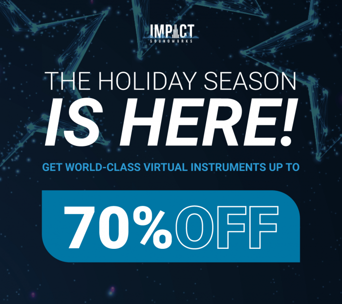 Impact Soundworks Holiday Sale