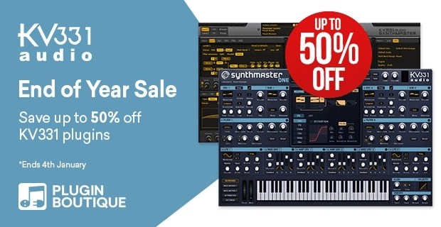 KV331 Audio End of Year Sale 50 OFF