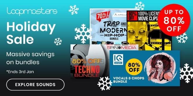 Loopmasters Holiday Sale Bundles