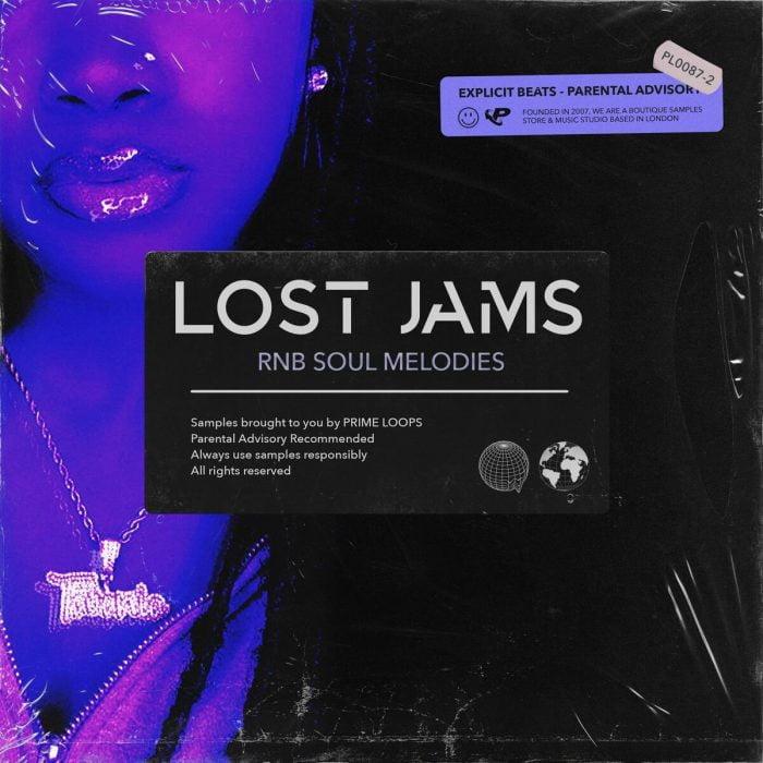 Prime Loops Lost Jams RnB Soul Melodies