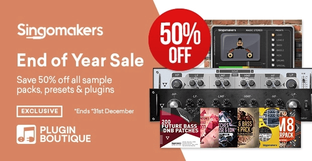 Singomakers End of Year Sale 50 OFF