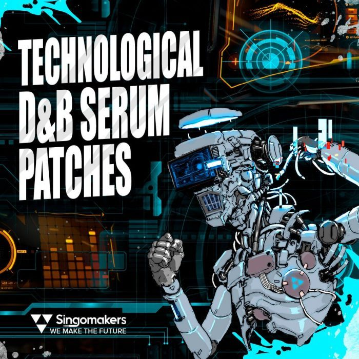 Singomakers Technological D&B Serum Patches
