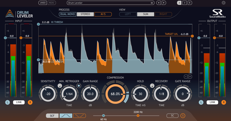 Sound Radix Drum Leveler 1.2
