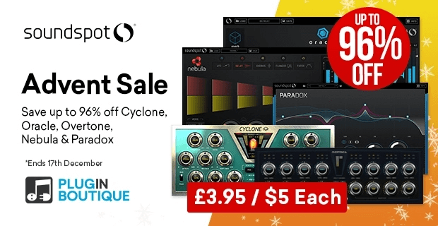 SoundSpot Advent Sale 96 OFF