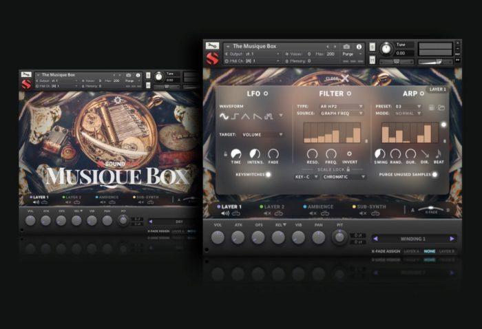 Soundiron Musique Box 2 GUI