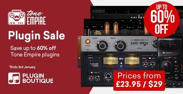 Tone Empire Plugin Sale 60 OFF