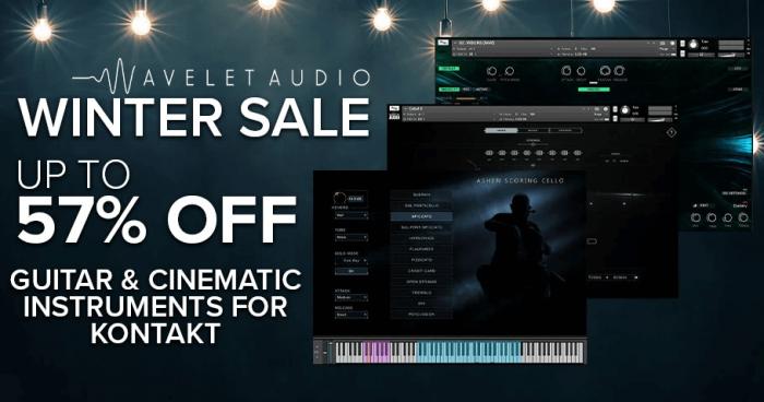 Wavelet Audio Winter Sale 2020