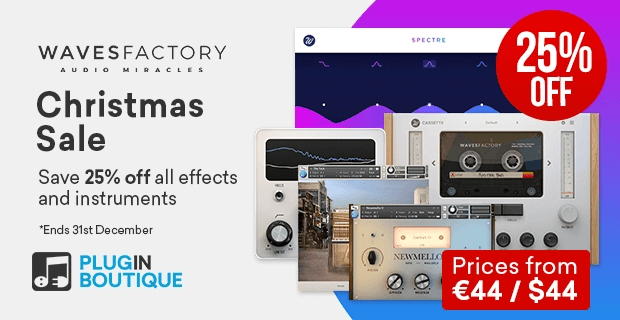 Wavesfactory Christmas Sale