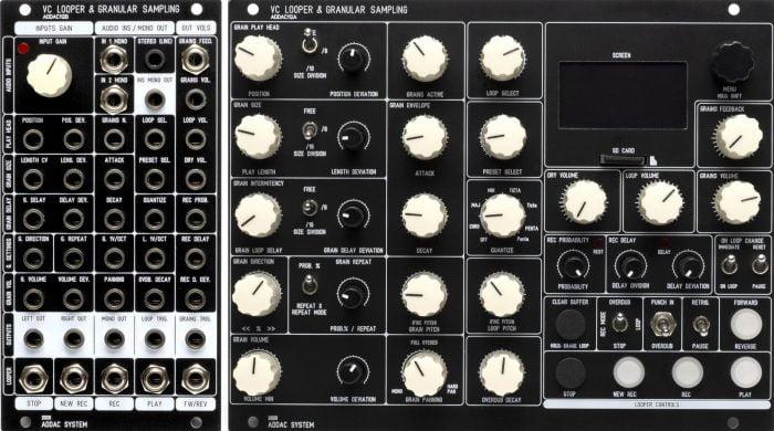 ADDAC112 Controls&Jacks