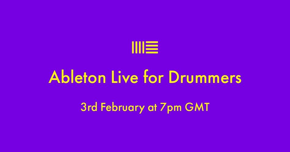 Ableton Live for Drummers