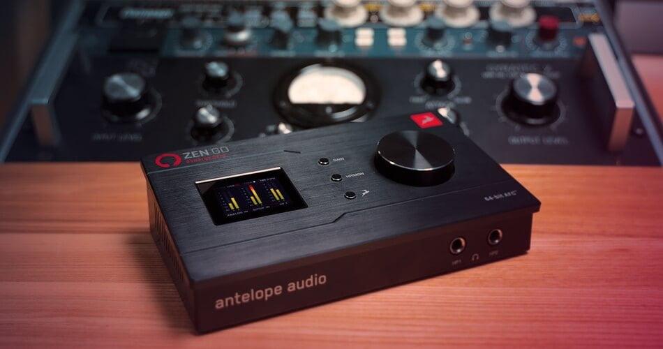 Antelope Audio Zen Go Synergy Core feat