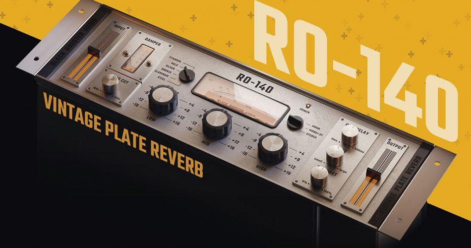 Black Rooster Audio RO 140 vintage plate reverb