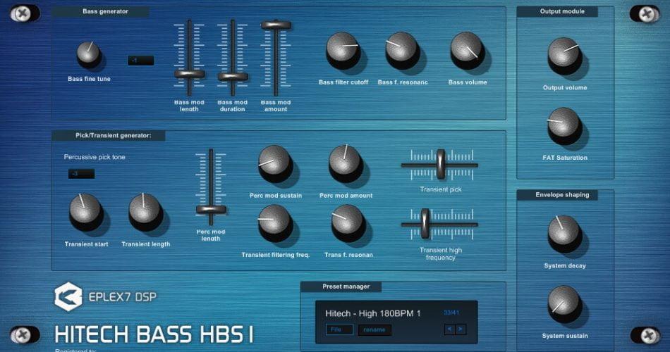 Eplex DSP Hitech Bass HBS1