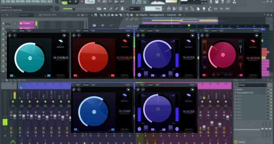 Fl Studio Patcher 1Knob Series