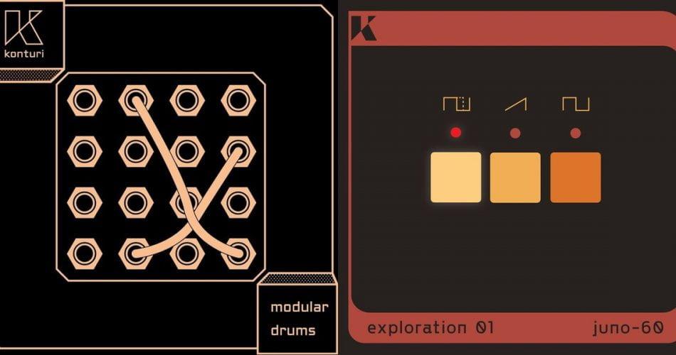 Konturi Modular Drums and Juno-60