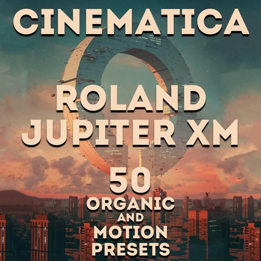 LFO Store launches Cinematica soundset for Roland Jupiter-Xm