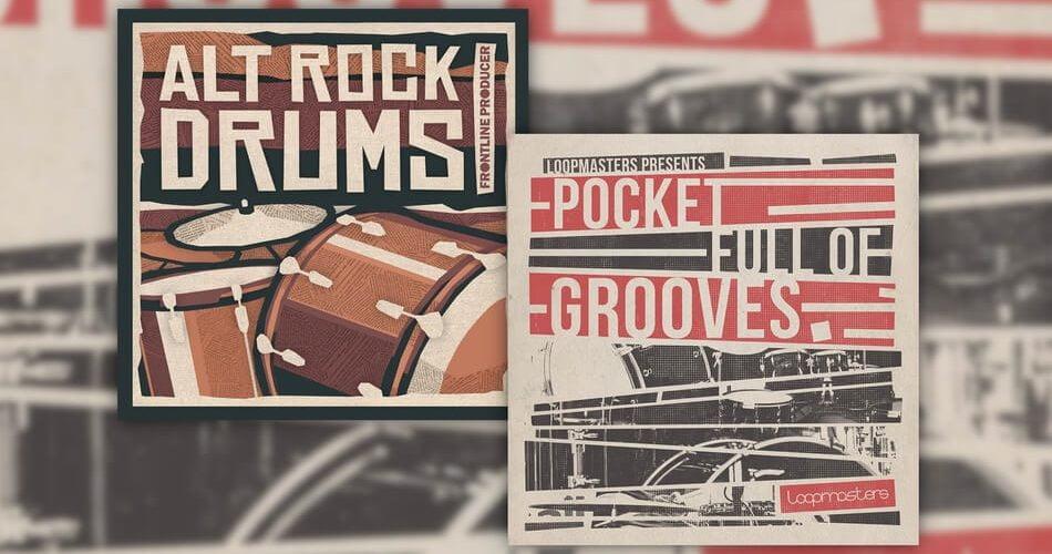 Loopmasters Pocket Full of Grooves Alt Rock Drums