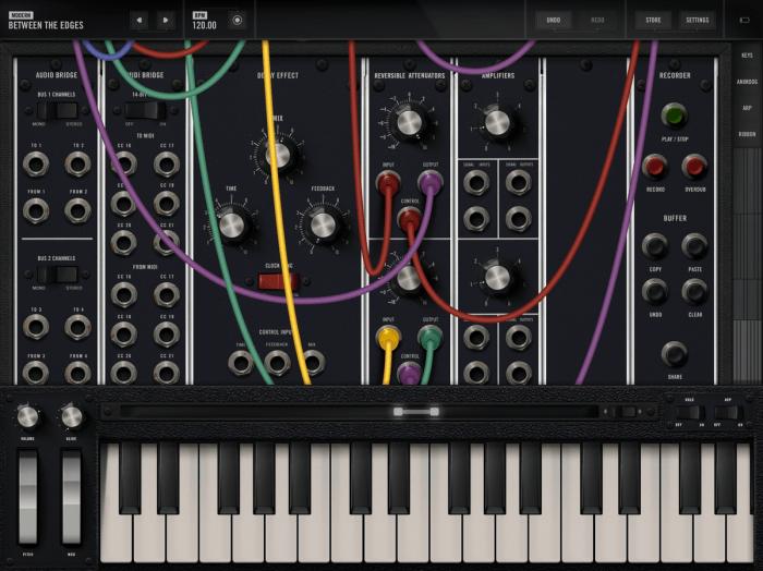 Moog Music Mode 15 app