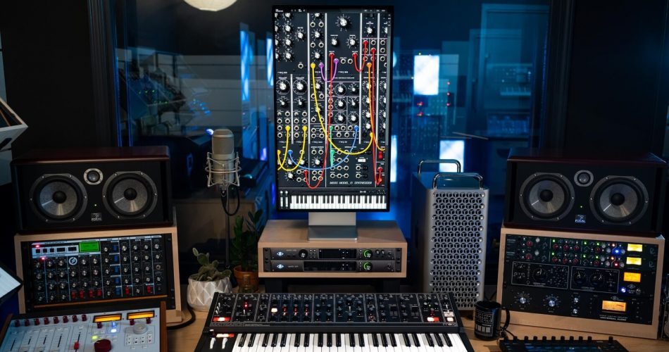 Moog Music Model 15 App Big Sur