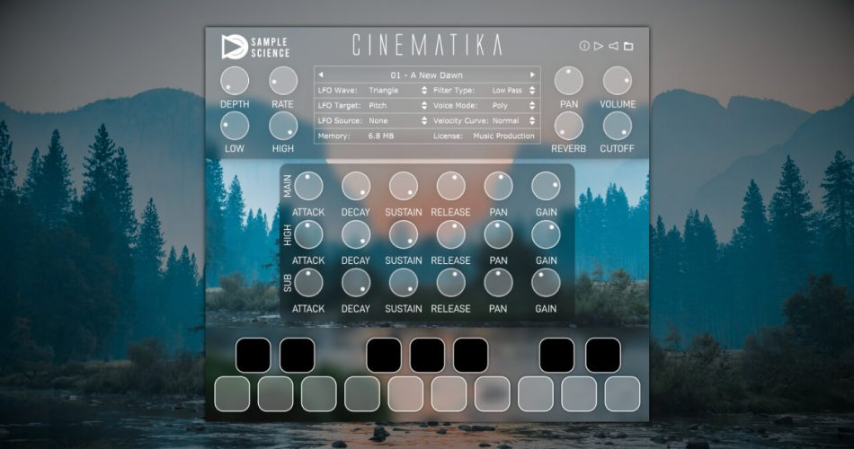 SampleScience Cinematika v2