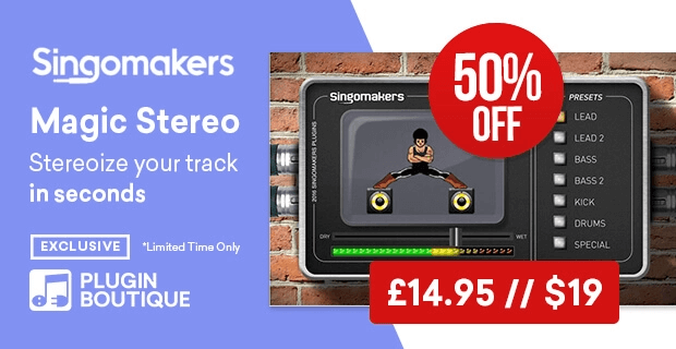 Save 50% on Magic Stereo