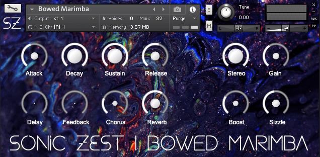 Sonic Zest Bowed Marimba