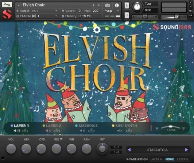 Soundiron Elvish Choir GUI