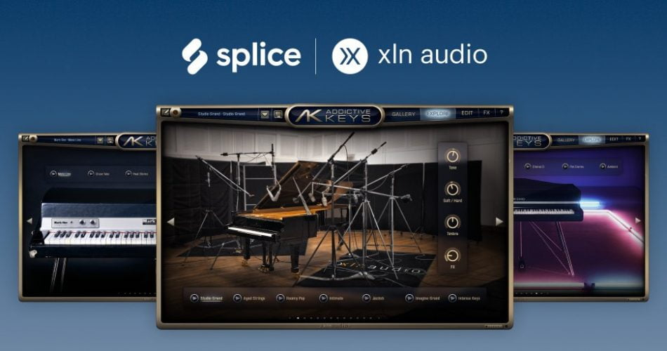 Splice XLN Audio Addictive Keys