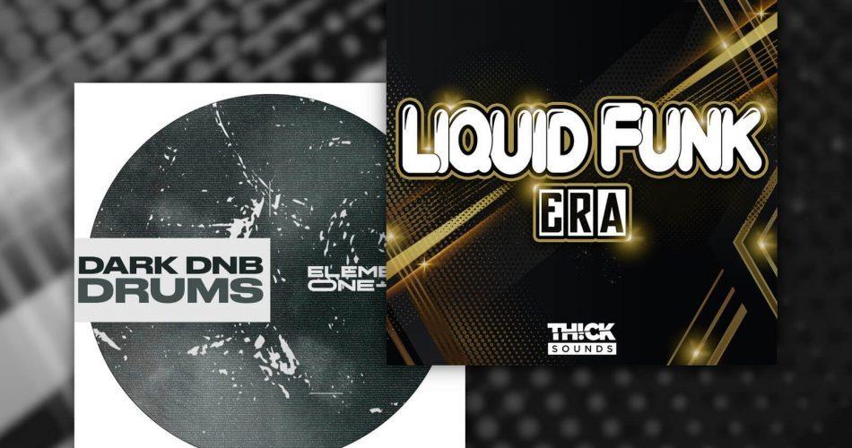 Thick Sounds Liquid Funk Era Element One Dark DnB Drums