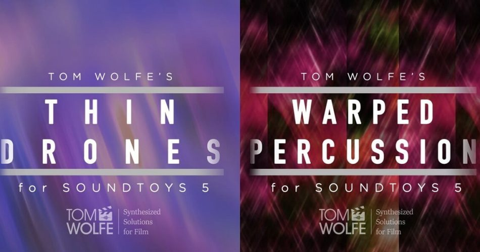 Tom Wolfe Thin Drones and Warped Percussion