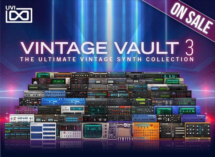 UVI Vintage Vault 3 Offer 2021