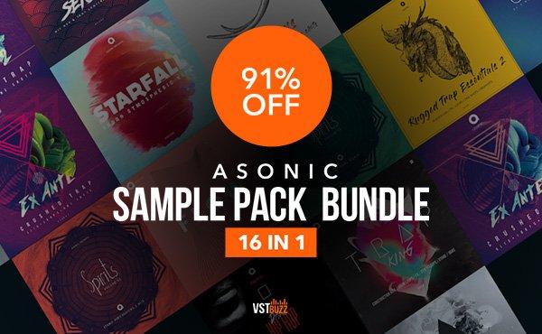 VST Buzz Asonic Sample Pack Bundle