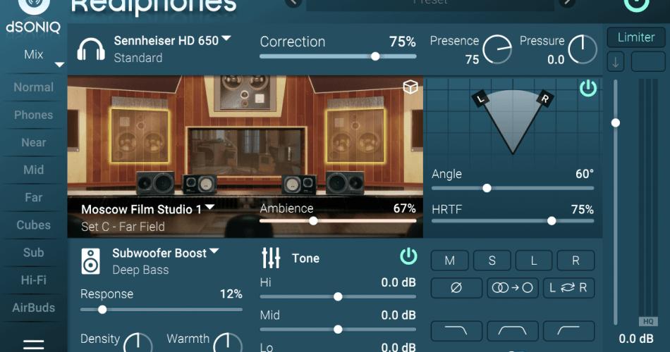 dSONIQ Realphones 1.6