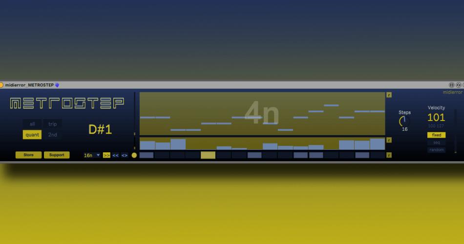 midierror Metrostep