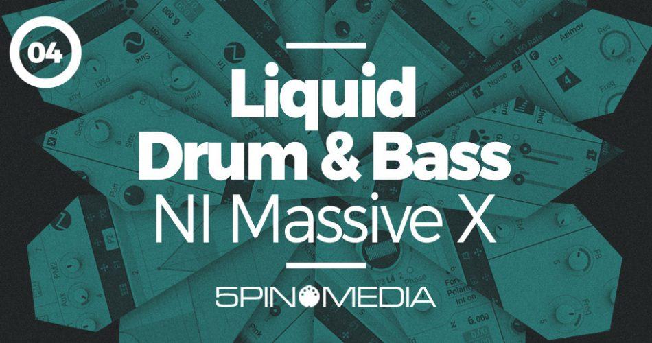 5Pin Media Liquid Drum and Bass for NI Massive X