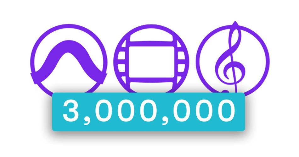 Avid 3 Million