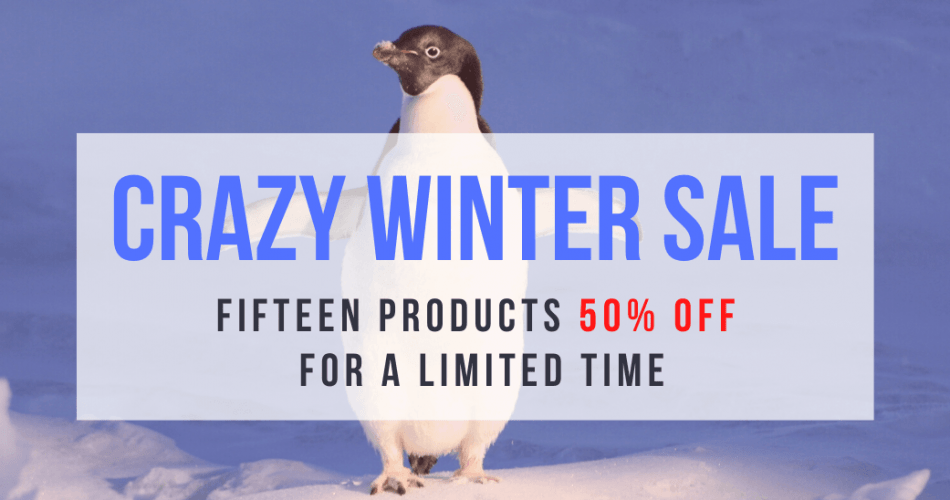 Dream Audio Tools Crazy Winter Sale