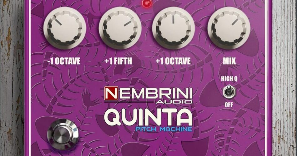 Nembrini Audio Quinta Pitch Machine