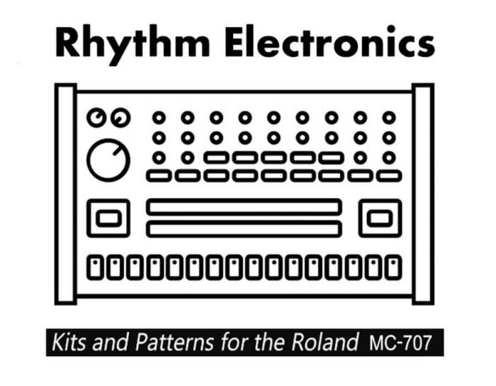 Rhythm Electronics Vintage Drum Kits for Roland MC 707