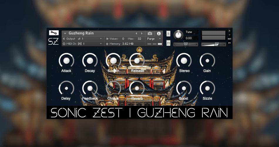 Sonic Zest Guzheng Rain