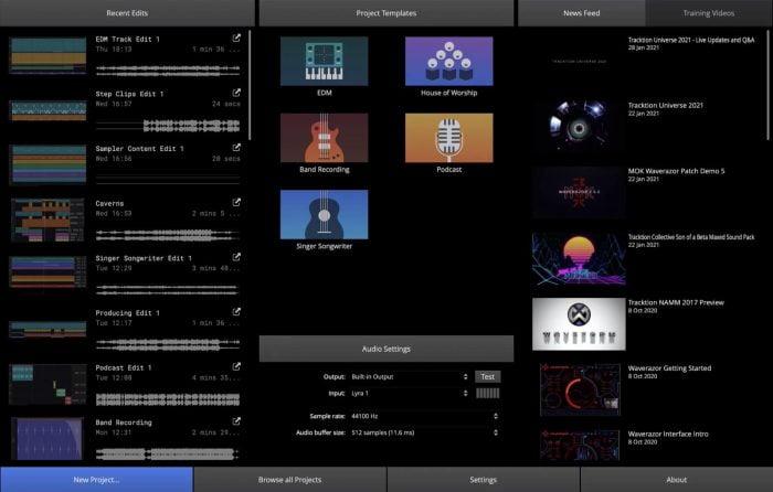 WF2021 Weclome Screen