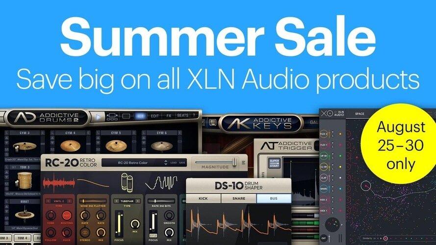 XLN Audio Summer Sale 2021