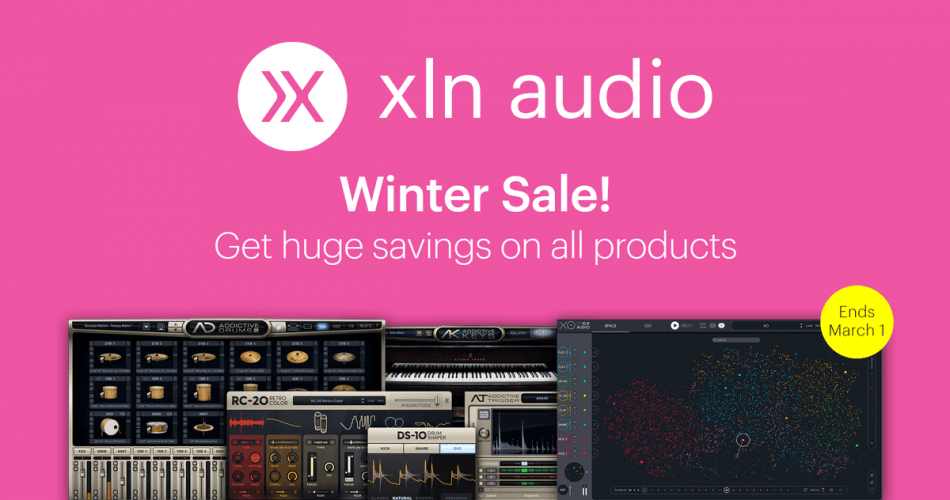 XLN Audio Winter Sale