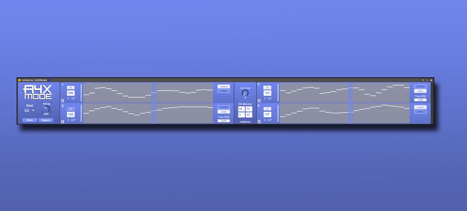 midierror A4XMode