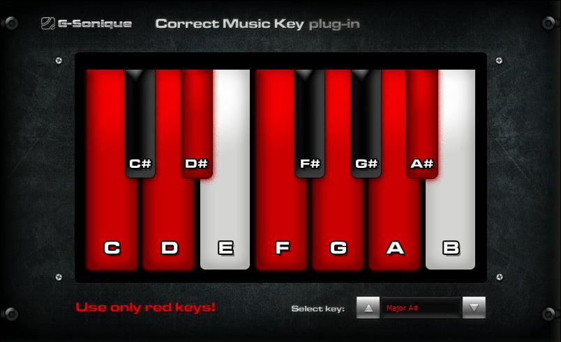 G Sonique Correct Key