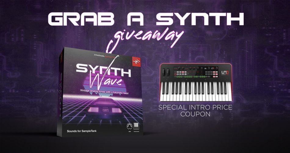 IK Synthwave Giveaway