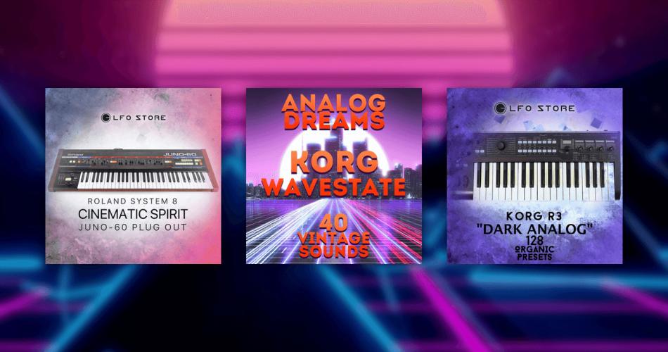 LFO Store Dark Analog, Analog Dreams and Cinematic Spirit