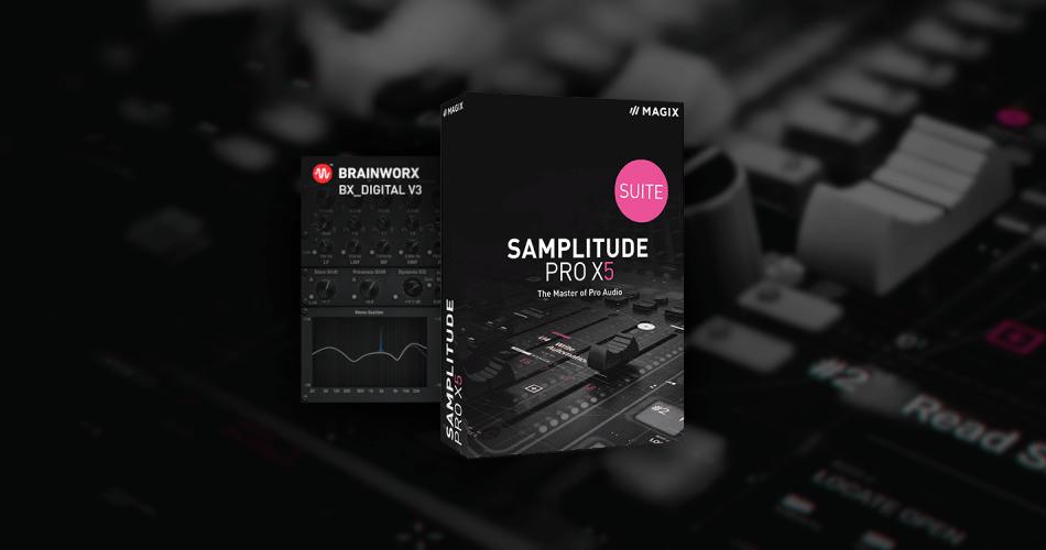 Magix Samplitude Pro X5 Suite with Brainworx bx digital V3