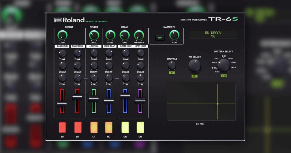 Momo Roland TR6S Editor